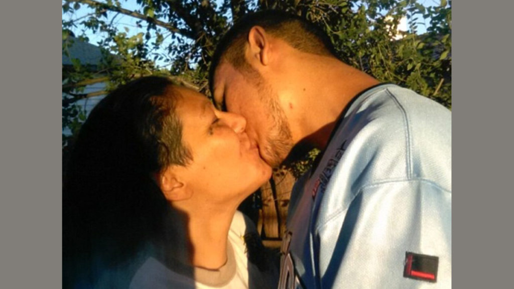 Madre e hijo israel
